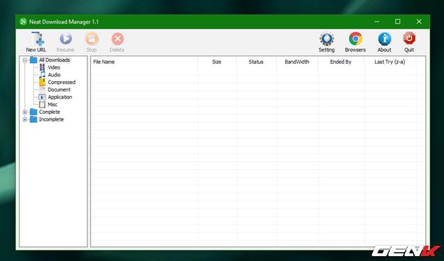 Tăng 300% tốc độ tải dữ liệu trên Windows 10 với Neat Download Manager - Ảnh 4.