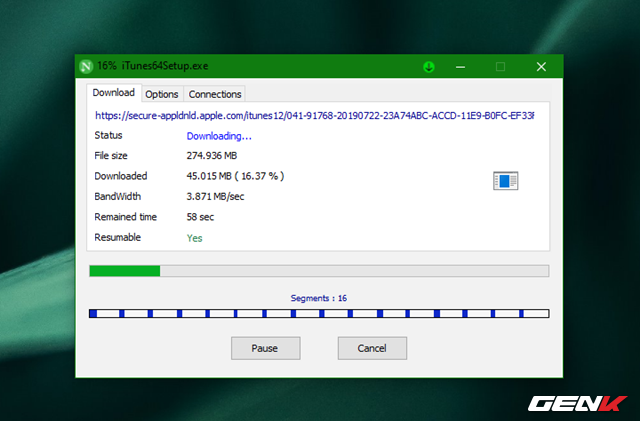 Tăng 300% tốc độ tải dữ liệu trên Windows 10 với Neat Download Manager - Ảnh 6.