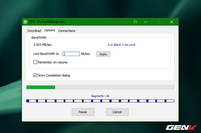 Tăng 300% tốc độ tải dữ liệu trên Windows 10 với Neat Download Manager - Ảnh 7.
