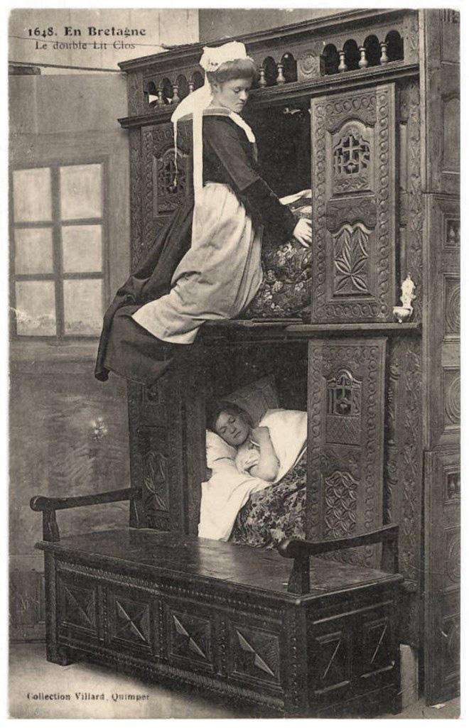 Tại sao nhiều người Châu Âu thời Trung cổ lại ngủ trong những chiếc giường hộp? - Ảnh 8.