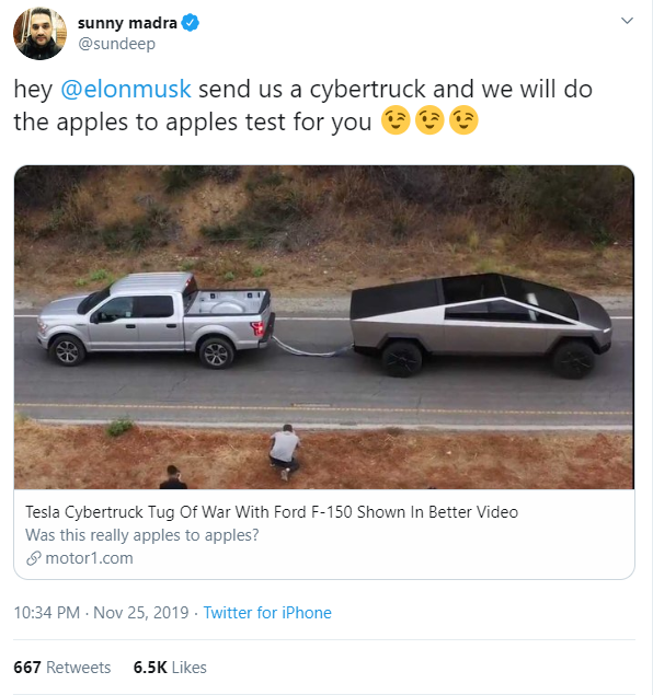 Phó chủ tịch Ford thách thức Tesla đấu lại một hiệp kéo co nữa, Elon Musk bảo Chơi luôn - Ảnh 3.