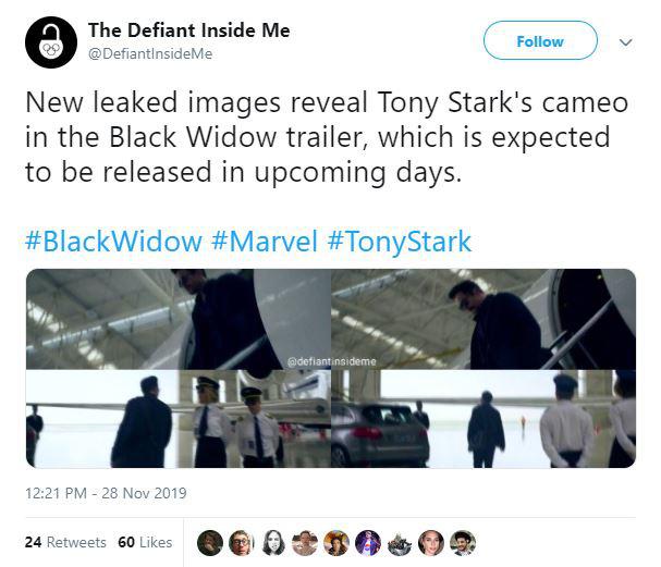 Lộ hình ảnh Iron Man xuất hiện trong phần phim riêng của Black Widow, dự kiến ra mắt vào tháng 5/2020 - Ảnh 2.