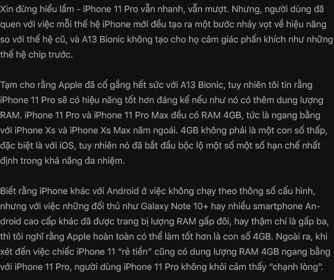 Đánh giá iPhone 11 Pro: Không phải người đi đầu, nhưng vẫn là người dẫn đầu - Ảnh 36.