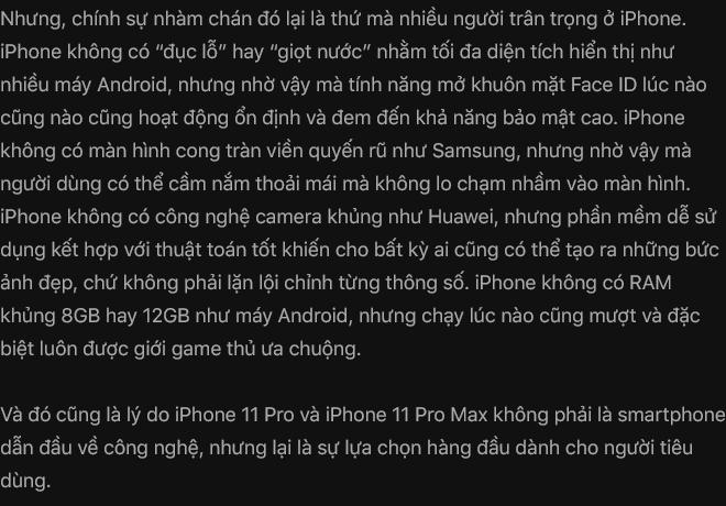 Đánh giá iPhone 11 Pro: Không phải người đi đầu, nhưng vẫn là người dẫn đầu - Ảnh 43.
