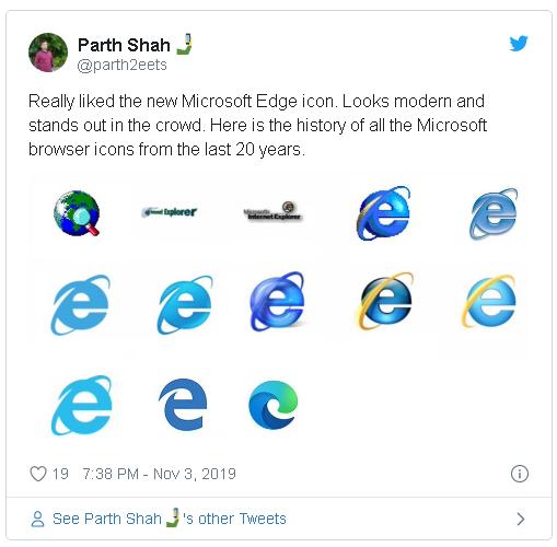 Microsoft ra mắt logo mới của trình duyệt Edge, lần này hoàn toàn khác với Internet Explorer - Ảnh 2.