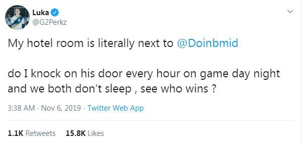 LMHT: Doinb đáp trả Perkz vô cùng hài hước - Hôm nào tôi cũng nhảy nhót trên stream đến đêm nhé - Ảnh 1.