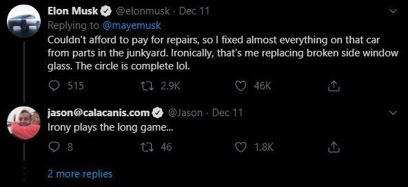 Nghe cư dân mạng bảo con trai không biết gì về ô tô, mẹ Elon Musk đăng ảnh ông đang sửa cửa kính ô tô từ tận 24 năm trước - Ảnh 2.