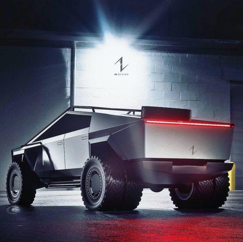 Chưa đi vào sản xuất, Tesla Cybertruck đã có nhiều bản độ cực ngầu - Ảnh 2.