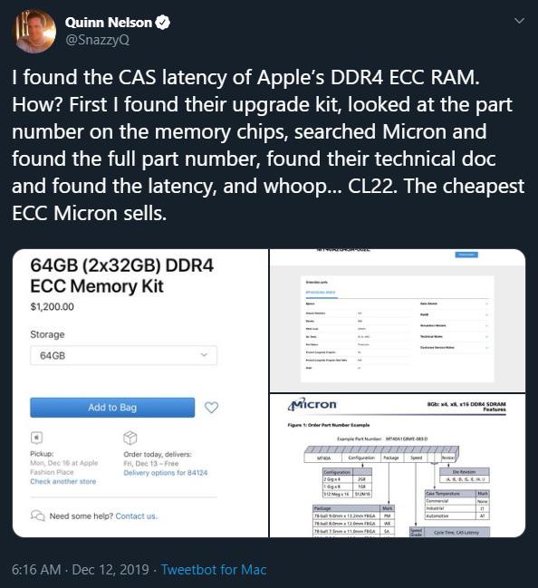 Mac Pro giá hơn 1 tỷ đồng nhưng chỉ được Apple trang bị RAM rẻ tiền - Ảnh 2.
