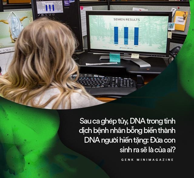 Sau ca ghép tủy, DNA trong tinh dịch bệnh nhân bỗng biến thành DNA người hiến tặng: Đứa con sinh ra sẽ là của ai? - Ảnh 6.