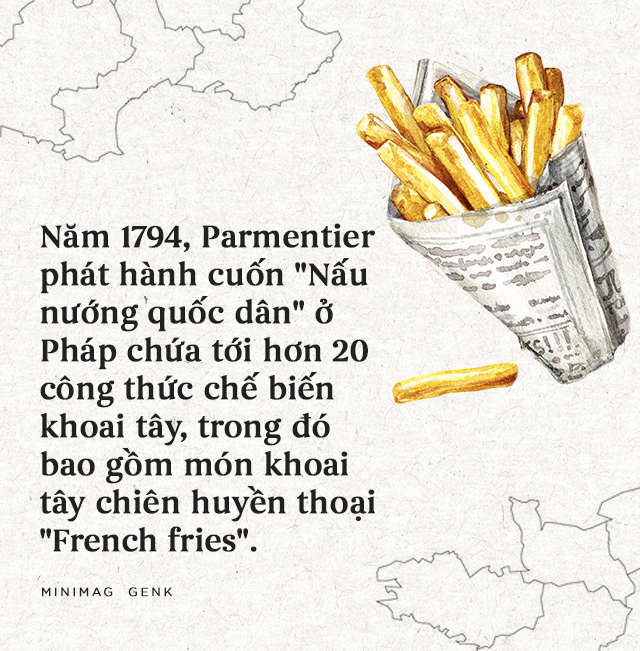 """Lịch sử thú vị của khoai tây: """"Quả táo quỷ"""" đem thịnh vượng đến cho những đế quốc - Ảnh 14."""