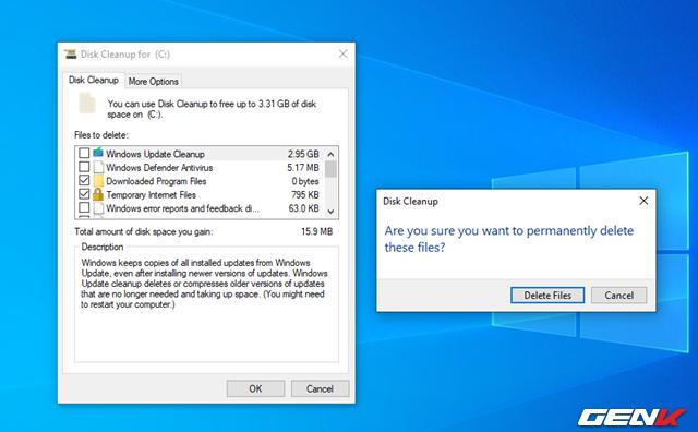 Tay không dọn dẹp Windows 10 mà không cần đến phần mềm của bên thứ ba - Ảnh 10.