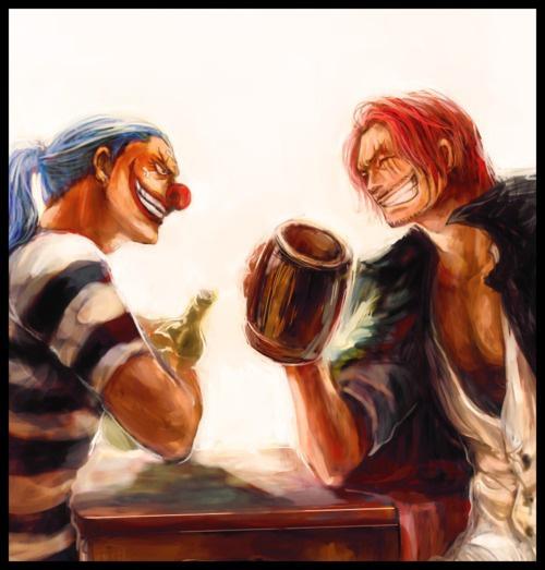 One Piece: Hóa ra Shanks và Buggy cũng đã từng có 1 thời mặn nồng, sẵn sàng hy sinh vì nhau - Ảnh 1.