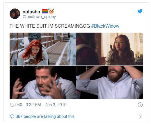 Fan Marvel phát cuồng sau trailer Black Widow: Góa phụ đen đổi gió mặc đồ trắng kìa bà con ơi! - Ảnh 2.