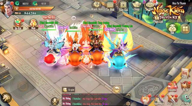 [CHÍNH THỨC] Ngọc Kiếm Truyền Kỳ: Game chuẩn cho fan cuồng võ lâm sẽ mở Alpha Test ngày 13/12 - Ảnh 7.