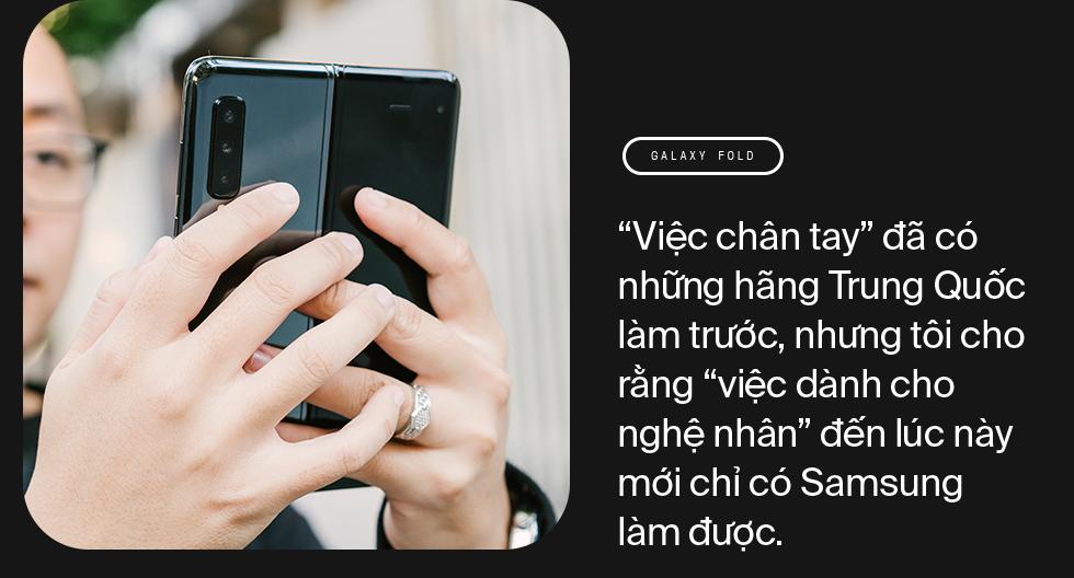 """Bỏ iPhone 11 Pro Max qua dùng Galaxy Fold: như xa vợ con để tìm """"thứ mới"""" - Ảnh 6."""