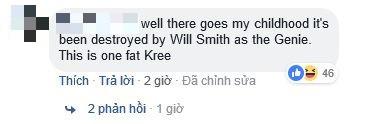 Là Xì Trum hay củ khoai sọ? Tạo hình Thần Đèn của Will Smith vẫn khiến dân tình ngáo ngơ vì quá xấu - Ảnh 6.