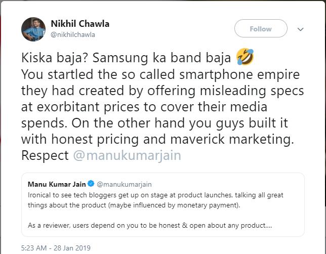 Bị sếp Xiaomi xỉa xói vì có mặt tại buổi ra mắt sản phẩm của Samsung, reviewer công nghệ tung clip bẻ cong Redmi Note 7 - Ảnh 1.