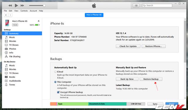 Làm thế nào để khôi phục lại ảnh đã xóa trên iPhone và iPad? - Ảnh 13.