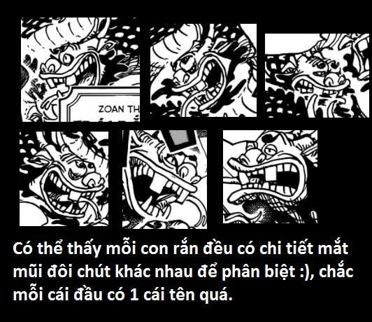 Góc soi mói One Piece 933: Mỗi đầu rắn của Orochi có một đặc điểm riêng, xuất xứ Komurasaki liên quan tới gia rộc Kozuki? - Ảnh 3.