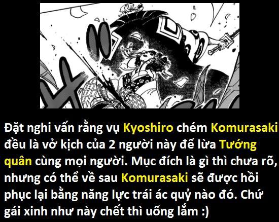 Góc soi mói One Piece 933: Mỗi đầu rắn của Orochi có một đặc điểm riêng, xuất xứ Komurasaki liên quan tới gia rộc Kozuki? - Ảnh 12.