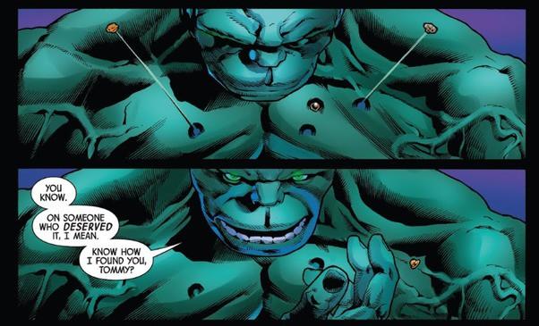 Trong Marvel, vũ khí hay vật liệu nào có thể xuyên thủng lớp da đao thương bất nhập của Hulk? - Ảnh 1.