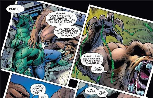 Trong Marvel, vũ khí hay vật liệu nào có thể xuyên thủng lớp da đao thương bất nhập của Hulk? - Ảnh 5.