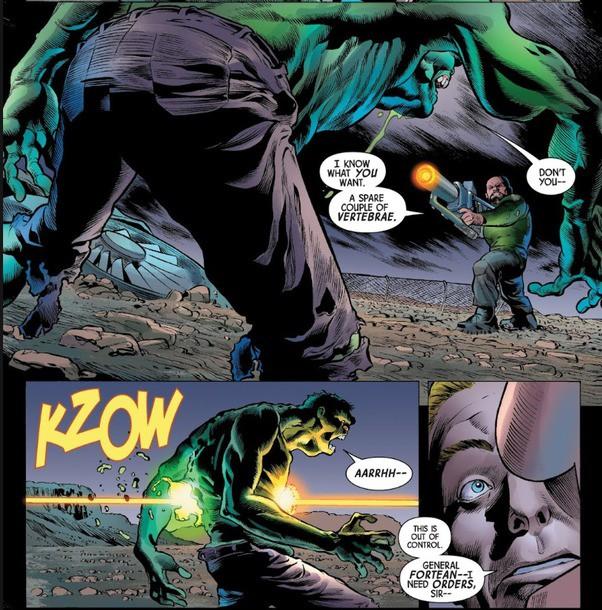 Trong Marvel, vũ khí hay vật liệu nào có thể xuyên thủng lớp da đao thương bất nhập của Hulk? - Ảnh 10.