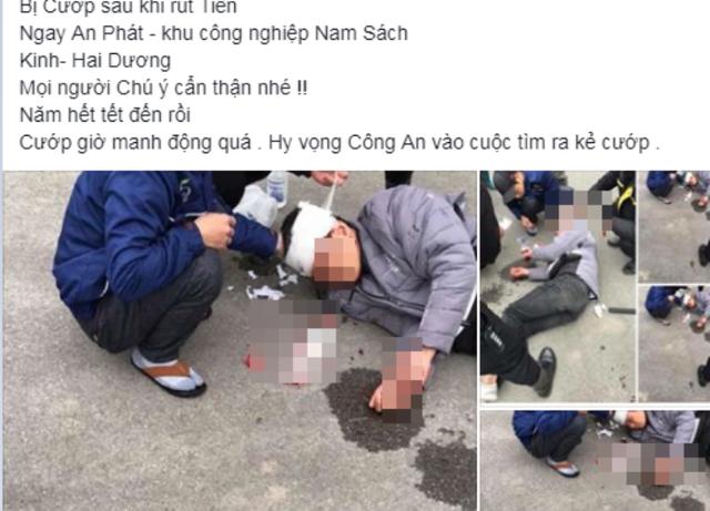 Nam thanh niên Hải Dương bị phạt 10 triệu đồng vì đăng tin sai sự thật trên Facebook - Ảnh 1.