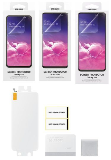 Rò rỉ ảnh miếng dán màn hình hỗ trợ cảm biến vân tay siêu âm của Galaxy S10, do chính Samsung sản xuất - Ảnh 1.