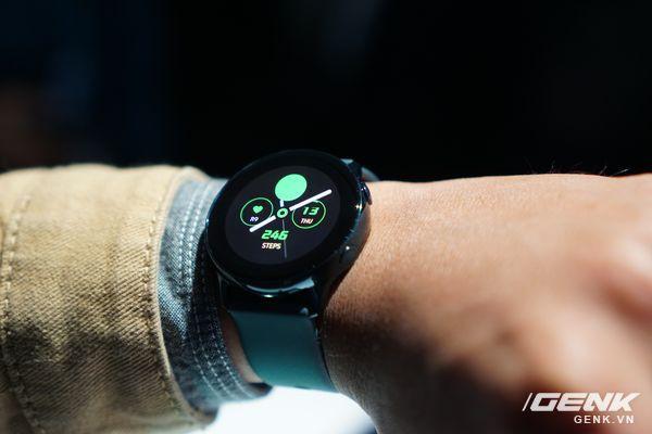 Cận cảnh Galaxy Watch Active: Chiếc smartwatch có thiết kế tinh tế nhất của Samsung - Ảnh 5.