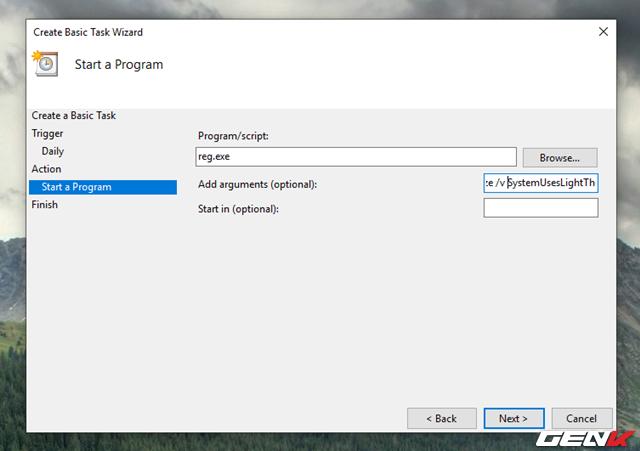 Cách thiết lập Windows 10 tự động chuyển sang giao diện nền tối mỗi khi chiều về - Ảnh 14.
