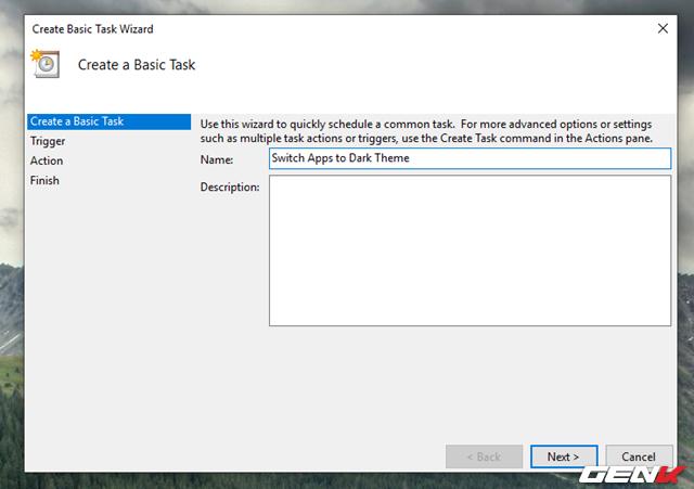 Cách thiết lập Windows 10 tự động chuyển sang giao diện nền tối mỗi khi chiều về - Ảnh 4.