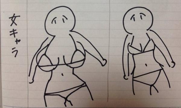 Đàn ông thì thích ngực to, phụ nữ thì muốn ngực bé: Quan điểm trái ngược giữa các nghệ sĩ vẽ anime - Ảnh 2.