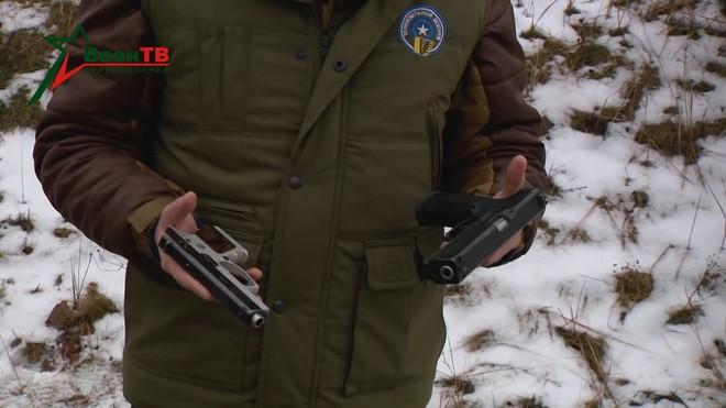 [Vietsub] Đôi nét về súng ngắn mỏng nhất thế giới của đặc nhiệm Belarus - Ảnh 2.