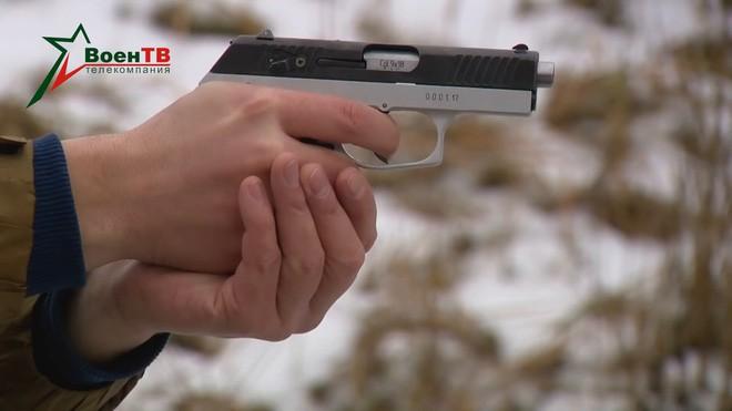 [Vietsub] Đôi nét về súng ngắn mỏng nhất thế giới của đặc nhiệm Belarus - Ảnh 11.