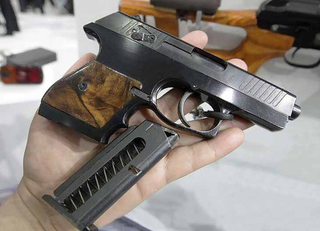 [Vietsub] Đôi nét về súng ngắn mỏng nhất thế giới của đặc nhiệm Belarus - Ảnh 12.