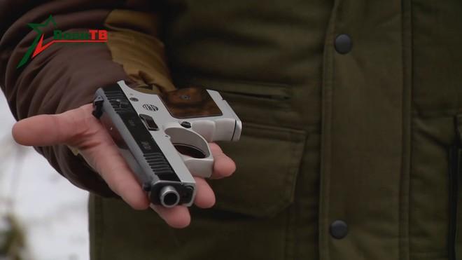 [Vietsub] Đôi nét về súng ngắn mỏng nhất thế giới của đặc nhiệm Belarus - Ảnh 14.