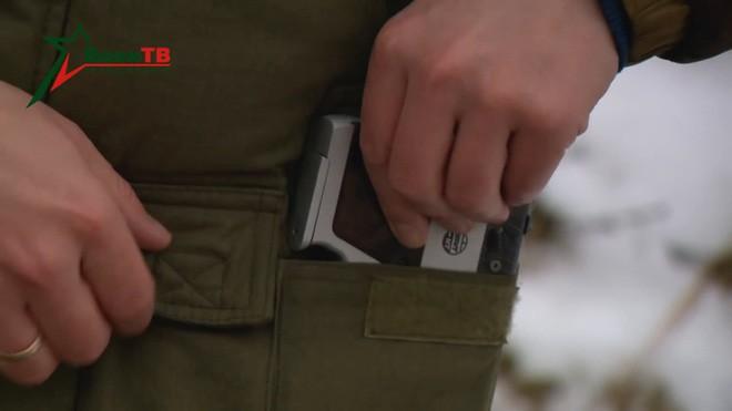 [Vietsub] Đôi nét về súng ngắn mỏng nhất thế giới của đặc nhiệm Belarus - Ảnh 4.