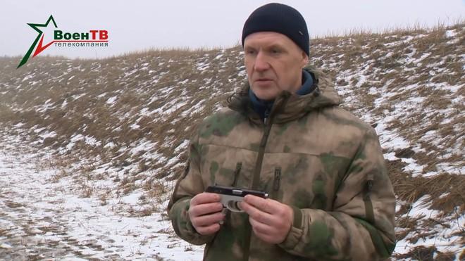[Vietsub] Đôi nét về súng ngắn mỏng nhất thế giới của đặc nhiệm Belarus - Ảnh 5.
