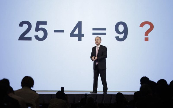Tỷ phú liều ăn nhiều Masayoshi Son vừa biến 5,5 tỷ USD thành 17 tỷ USD sau một đêm bằng một công thức toán học khó hiểu 25 - 4 = 9 - Ảnh 1.