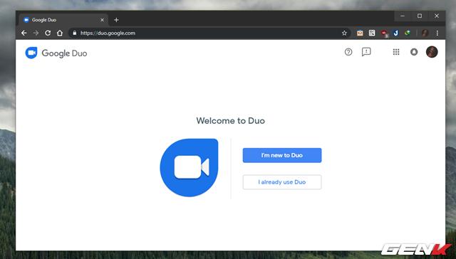 Google chính thức đưa đối thủ của FaceTime lên nền web, và đây là cách sử dụng - Ảnh 1.