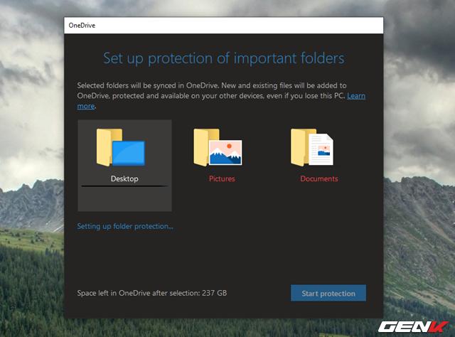 Cách kích hoạt tính năng Folder Protection trong OneDrive của Windows 10 - Ảnh 7.