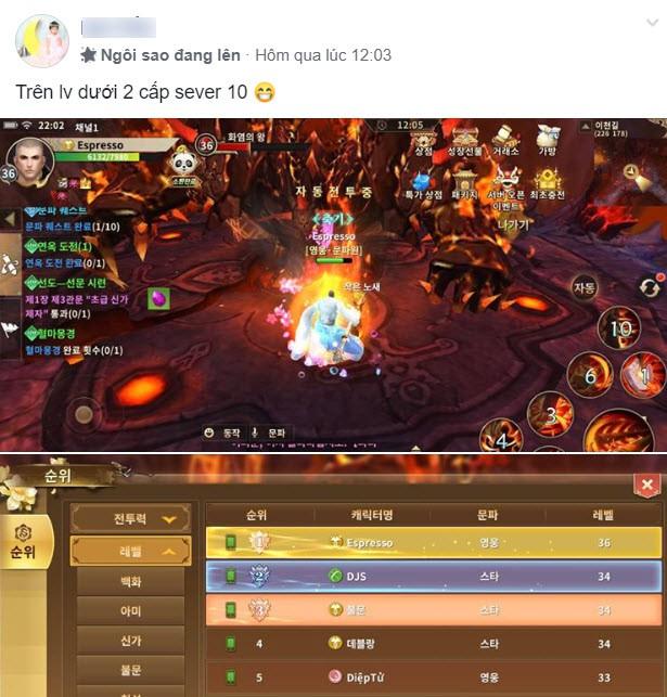 Game thủ Việt sừng sững trên BXH Hàn Quốc chỉ sau 3 tiếng mở server, biết danh tính ai cũng phải thốt lên: Huyền thoại! - Ảnh 30.