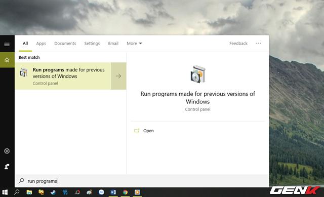 5 Mẹo đơn giản giúp bạn có thể chạy các phần mềm và game cũ trên Windows 10 - Ảnh 2.