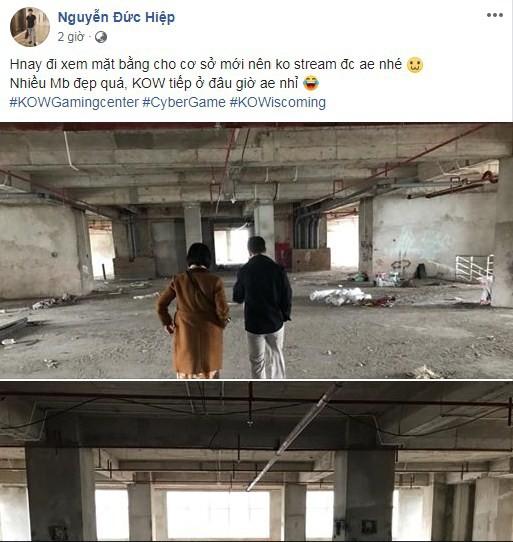 Hai năm trời mang tiếng rửa tiền, quảng cáo dạo, KingOfWar đáp trả hùng hồn bằng tuyên bố tiếp tục khai trương cơ sở mới - Ảnh 2.