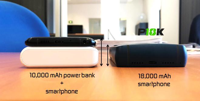 Smartphone pin 18.000 mAh Energizer P18K Pop được gây quỹ trên IndieGogo, giá 550 USD - Ảnh 3.