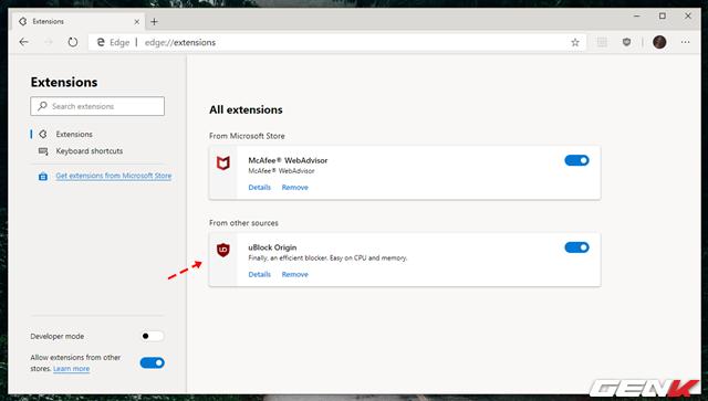 Cách cài đặt các tiện ích mở rộng Chrome cho trình duyệt Microsoft Edge mới - Ảnh 14.