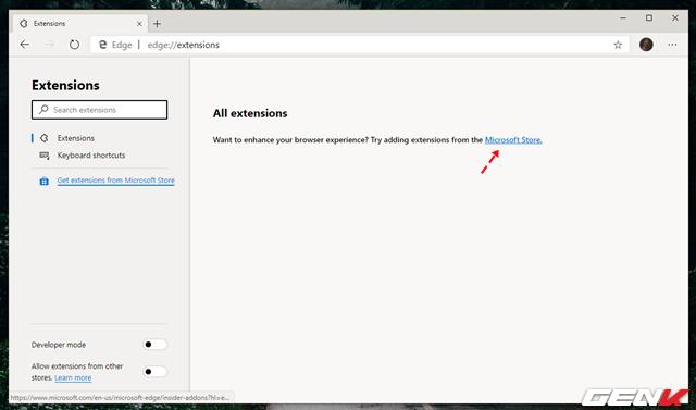 Cách cài đặt các tiện ích mở rộng Chrome cho trình duyệt Microsoft Edge mới - Ảnh 2.
