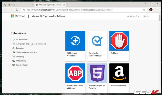 Cách cài đặt các tiện ích mở rộng Chrome cho trình duyệt Microsoft Edge mới - Ảnh 3.